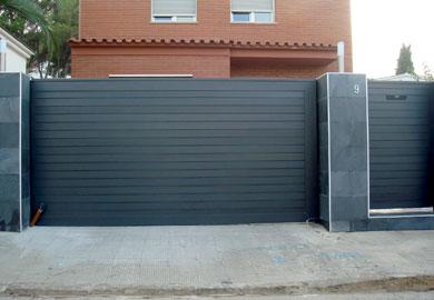 Instalación de puertas metálicas y de aluminio para ... - photo#6